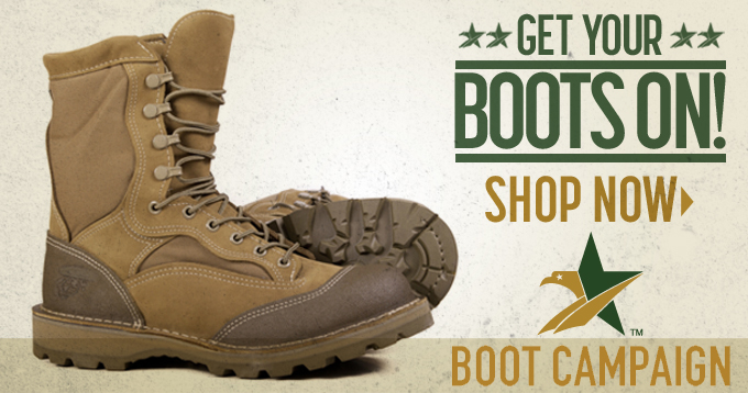 The Full-Throttle Leadership Ride is so proud to partner with The Boot Campaign