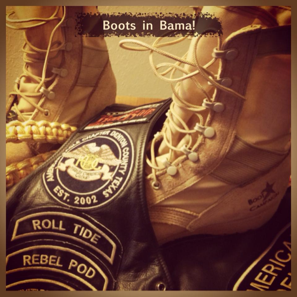 Boots in Bama