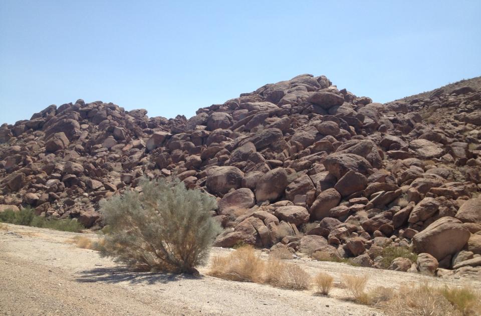 Hot Desert Floor