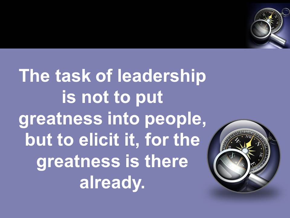 The Leadership Compass-Greatness