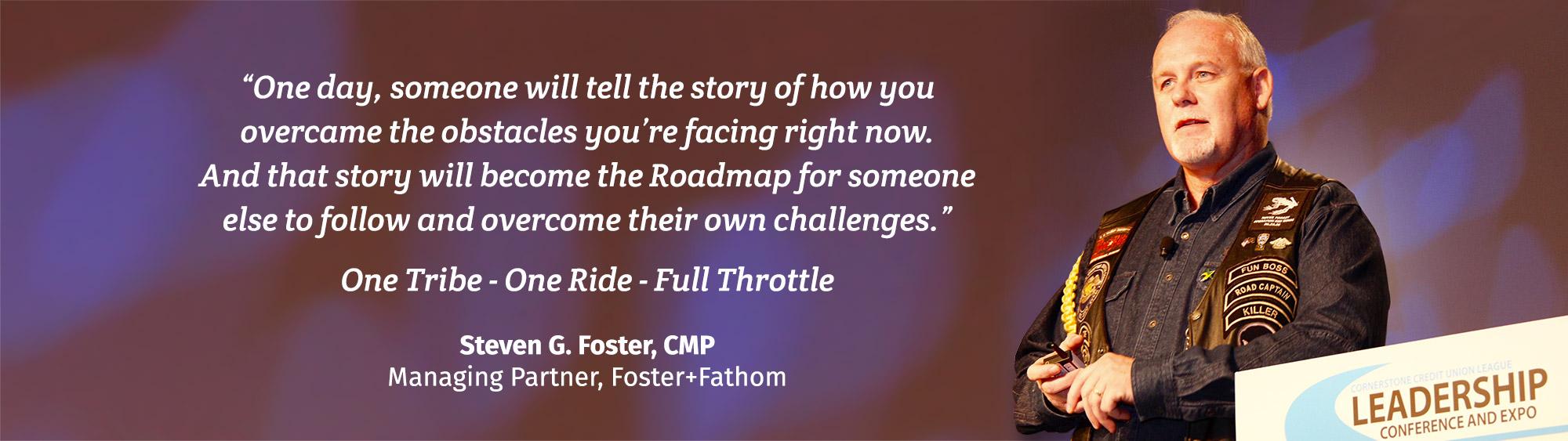 Steven G. Foster, CMP - Managing Partner, Foster+Fathom